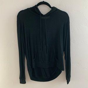 Brandy Melville John Galt Black Sweatshirt